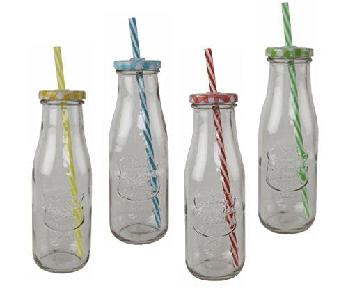 15 smoothie flasche glasflaschen leer a 250ml mil. Black Bedroom Furniture Sets. Home Design Ideas